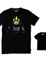 MOTOGP46 Motorcycle Clothes Short Sleeves Cotton T-Shirt Breathable Summer Unisex