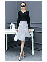 Women's spring 2017 new wave of Korean ladies temperament winter skirt suit two-piece dress