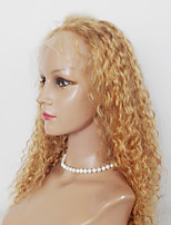 Kinky Curly Lace Front Wig  Synthetic Peruvian  Hair For  Black Women