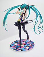 Anime Action Figures Inspired by Cosplay Hatsune Miku PVC 21 CM Model Toys Doll Toy 1pc