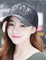 Women 's Spring Summer Ladies Outdoor Leisure Travel Mountaineering Letters LOVE Lace Baseball Cap