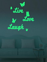 Words Luminous Wall Stickers Vinyl Material Home Decoration