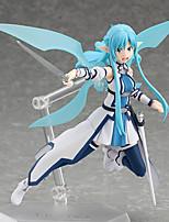 Anime Actionfigurer Inspireret af Sword Art Online Cosplay PVC 15 CM Model Legetøj Dukke Legetøj
