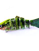 1 Stück Harte Fischköder Harte Fischköder Zufällige Farben 0.018 g Unze mm Zoll,Kunststoff Angeln Allgemein