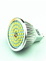 4.5W GU5.3 (MR16) LED-spotlampen MR16 48 SMD 2835 400 lm Warm wit Koel wit Decoratief AC 12 V 1 stuks