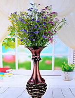 1 Branch Plastic Baby Breath Tabletop Flower Artificial Flowers