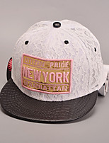 Women's Fashion Sweet Cotton Lace Baseball Cap Sun Hat Patchwork Casual Holiday Summer All Seasons