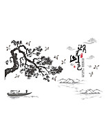 Wall Stickers Wall Decals Style Landscape Painting PVC Wall Stickers
