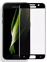 Asling para Samsung a3 calaxy (2017) 0.2mm 3d borde de arco toldo de vidrio templado película protectora protector de pantalla