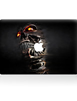 For MacBook Air 11 13/Pro13 15/Pro with Retina13 15/MacBook12  Person Cranial Head Decorative Skin Sticker