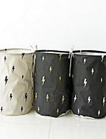 Коробки для хранения Мешки для хранения Корзины для хранения Текстиль сОсобенность является Открытые , Для Бельё Ткань