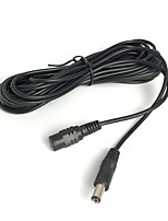 5 m (15 pieds) d'alimentation 12v dc 2.1x5.5mm câble d'extension