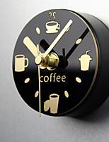 Moderne/Contemporain Nautique Horloge murale,Nouveauté Acrylique Métal 9 Intérieur Horloge