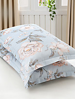 Floral Duvet Cover Sets 2 Piece Cotton Poly/Cotton Pattern Reactive Print Cotton Poly/Cotton Full Queen 2pcs Shams