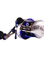 Molinetes de Pesca Molinete de Isca 7:1 18 Rolamentos Destro Pesca Geral-SF1000