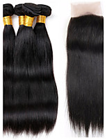 One Pack Solution Brazilian Texture Straight 12 Months 5 Pieces hair weaves