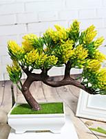 2 Une succursale Fleur séchée Fleur de Table Fleurs artificielles