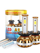 2017 New D2 D4 60W 6400LM LED Headlight Kit COB chip 6000K 8000K Bulbs lamps Light Pair