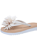 Damen-Slippers & Flip-Flops-Lässig-PU-Flacher Absatz-Komfort