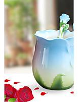Классика Оригинальные Идти Стаканы, 40 ml Теплоизолированные Керамика Молоко Телесный Кофейные чашки