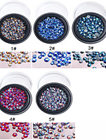 1PC Iridescence Diamond  Three Dimension Conventional About 100 Star 5 Colors Optional