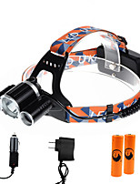 U'King® ZQ-X821C-EU CREE XM-L T6/2*R5 Headlamp 5000LM LED 4 Mode for Camping Hiking Bike Outdoor Green light