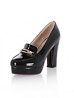 Women's Heels Spring Summer Novelty Patent Leather Leatherette Wedding Office & Career Party & Evening Dress Casual