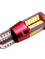 ZIQIAO 1 Pcs LED T10 Super Bright W5W 57SMD Lights Bulb Parking Lamps 12 V