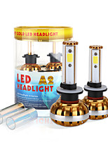 2017 New 880 881 60W 6400LM LED Headlight Kit COB chip 6000K 8000K Bulbs lamps Light Pair