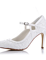 Heels Spring Summer Fall Winter Comfort Tulle Wedding Party & Evening Dress Stiletto Heel