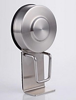 Sucker Washbasin Hook / BrushedStainless Steel /Contemporary