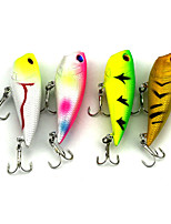 4 pcs Popper Random Colors 0.0077 g Ounce mm inch,Plastic General Fishing