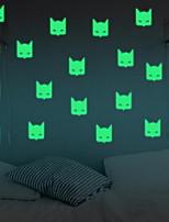 Formas Adesivos de Parede Autocolantes de Parede Luminosos Autocolantes de Parede Decorativos,Vinil Material Decoração para casa Decalque