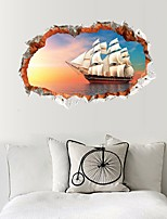 Abstract Leisure 3D Wall Stickers 3D Wall Stickers Decorative Wall Stickers,Paper Material Home Decoration Wall Decal