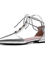 сандалии весна лето клуб обувь коровьей платье случайно низкий каблук