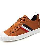Hombre-Tacón Plano-Confort Suelas con luz-Zapatillas de deporte-Exterior Informal-Cuero