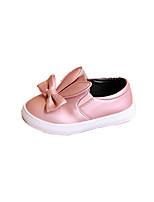 Серебряный Розовый-Дети-Для прогулок Повседневный-Дерматин-На плоской подошве-Удобная обувь-На плокой подошве