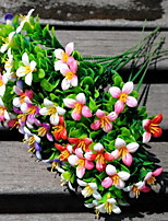 1 Une succursale Plastique Autres Fleur de Table Fleurs artificielles 15*15*25