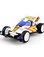 Race Car Toys Car Toys 1:12 Metal Plastic White Model & Building Toy