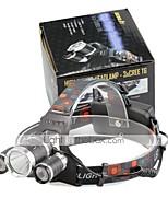 Stirnlampen LED 4000 Lumen 4.0 Modus Cree XP-G R5 Cree XM-L T6 18650 Kompakte GrößeCamping / Wandern / Erkundungen Für den täglichen