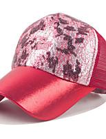 Unisex Sequin Printing Network Baseball Vintage Cap Casual All Seasons