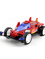 Race Car Toys Car Toys 1:12 Plastic Leather Red Model & Building Toy