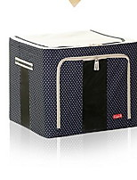 Storage Boxes Non-woven withFeature is Lidded  For Jewelry Underwear Cloth Quilts Shopping Random color
