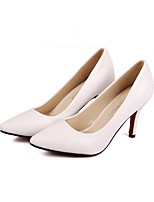 Women's Heels Spring Summer Fall Club Shoes Comfort PU Office & Career Party & Evening Dress Stiletto Heel Walking