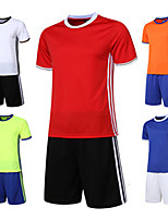 Unisex Soccer Clothing Sets/Suits Breathable Quick Dry Comfortable Spring Summer Fall/Autumn Winter Solid PolyesterLeisure Sports