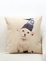 1 pcs Polyester Pillow Cover,Animal Print Others