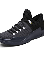 Men's Athletic Shoes Comfort Canvas Outdoor Office & Career Athletic Casual Flat Heel Lace-up Hiking
