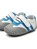 Girl's Flats Comfort PU Outdoor Casual Black Running