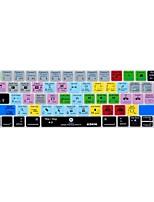 xskn® Premiere Pro куб.см ярлык кожи силиконовая клавиатура и протектор сенсорной панели для 2016 года новый Macbook Pro 13,3 / 15,4 с