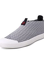 Herren-Sneaker-Outddor Lässig-maßgeschneiderte Werkstoffe-Flacher Absatz-Komfort Leuchtende Sohlen